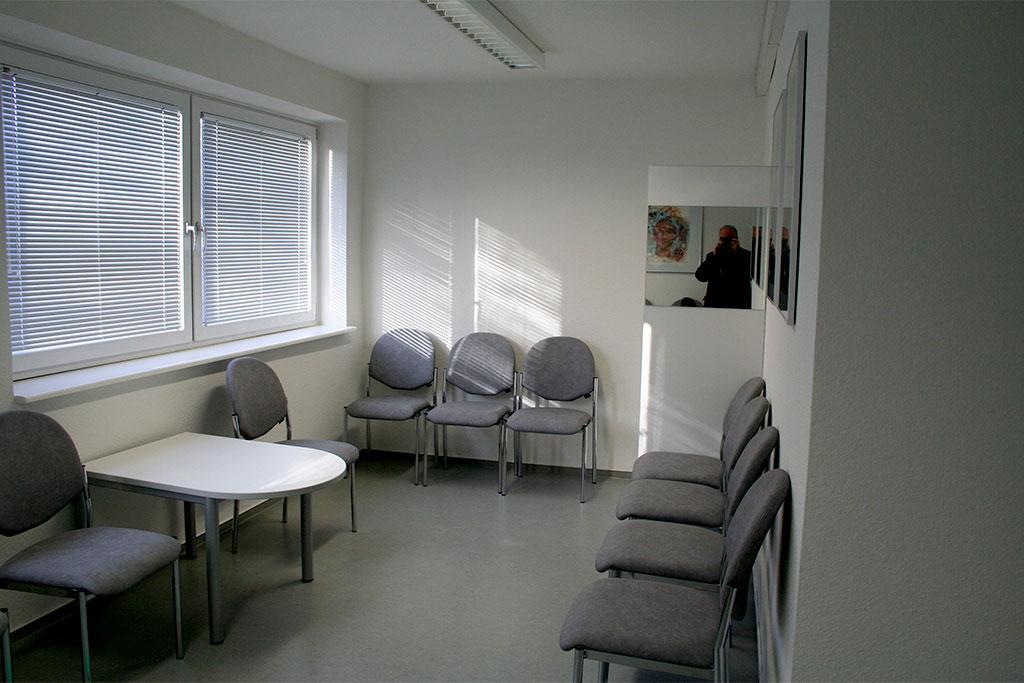 Wartezimmer in einer Praxis