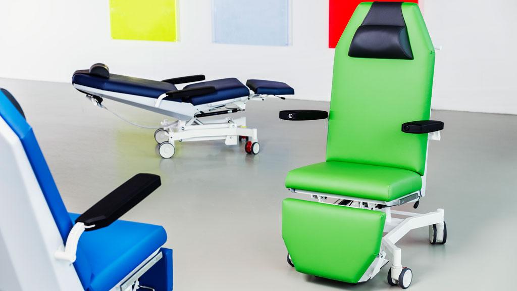 Medizinische Stühle für die Behandlung nach Maß von Interhansa