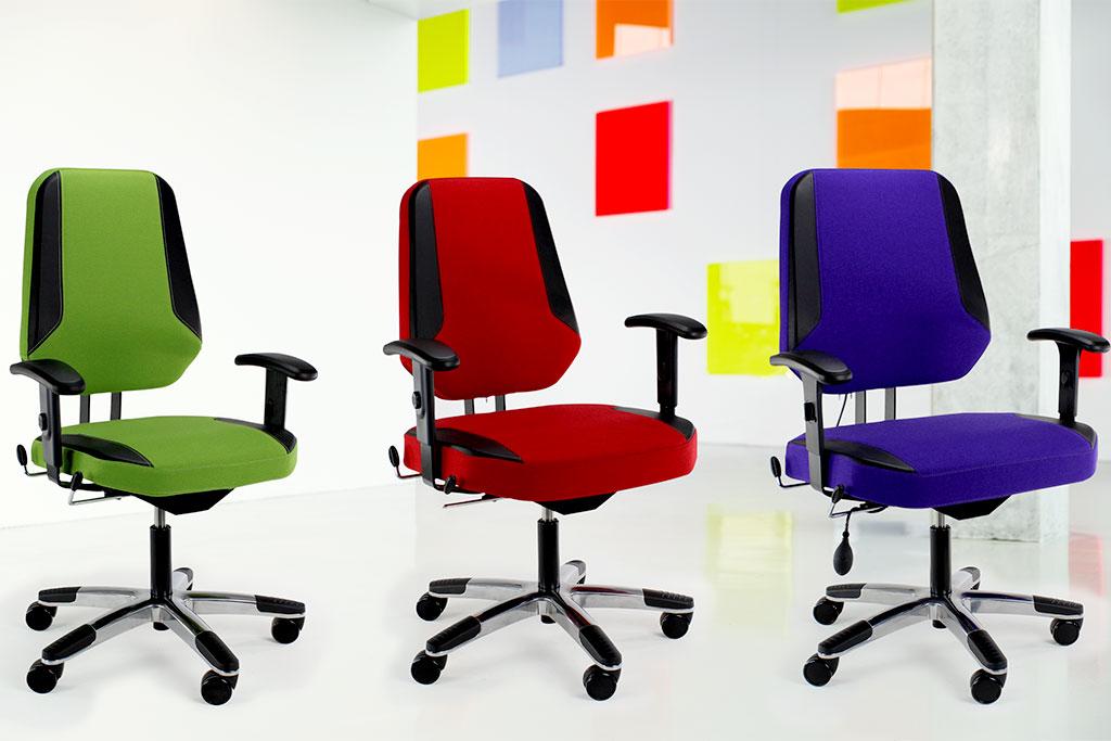 Individuelle Bürostühle von Interhansa