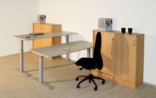Sitz-/ Steh- Kombination, elektrisch höhenverstellbar