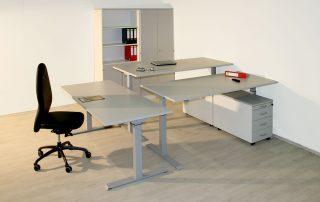 Sitz-/ Steh – 3er Kombination elektrisch höhenverstellbar