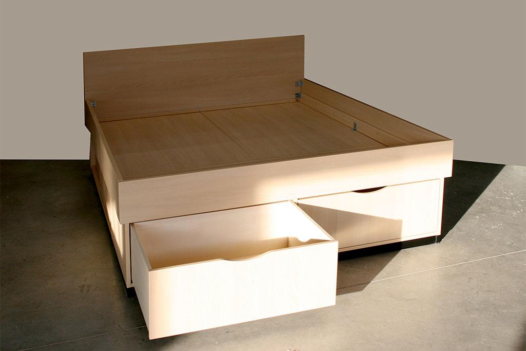 Möbel nach Maß wie Betten mit Stauraum