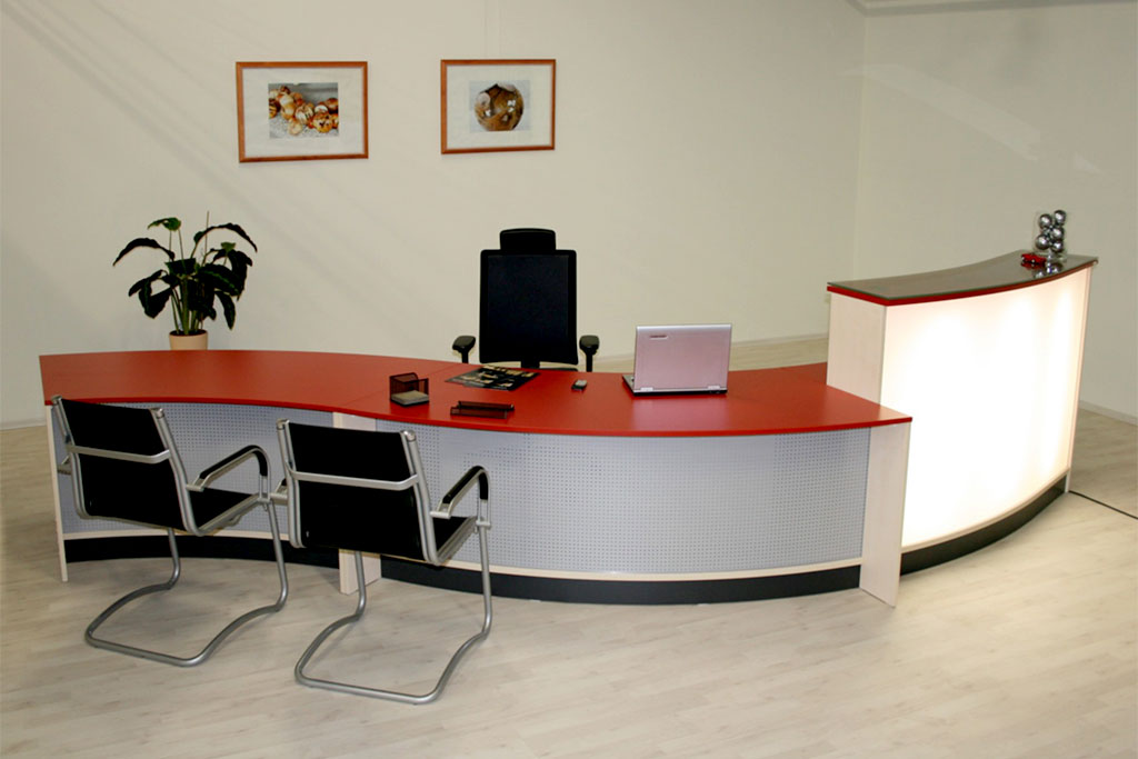 Tresen für das Büro Interhansa Hamburg