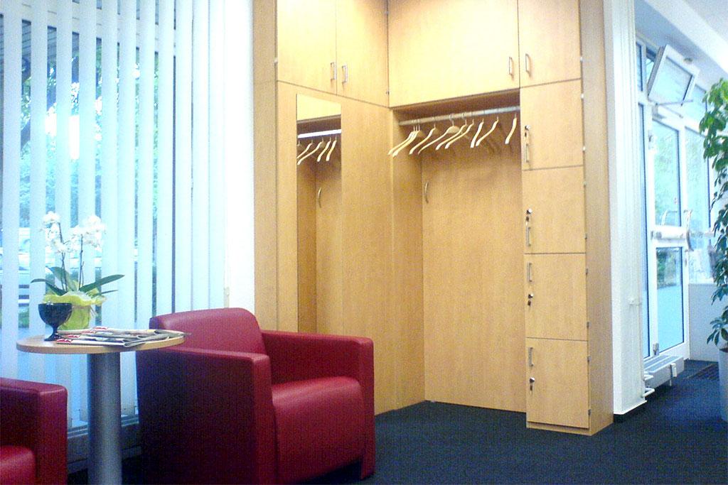 Wartebereich in einer Privatklinik