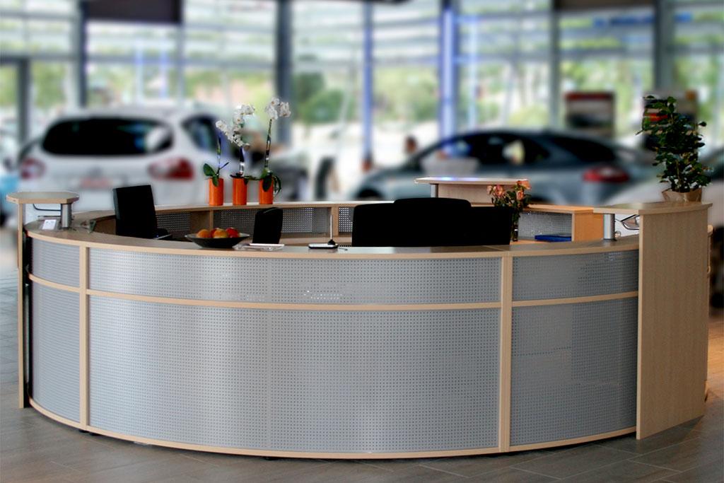 Tresen von Interhansa Büroeinrichtung Hamburg