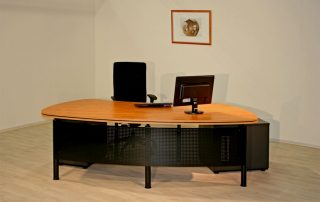 Schreibtische für das Büro von Interhansa
