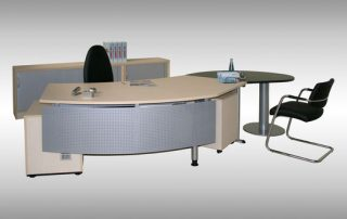 Schreibtisch Inneneinrichtung von Interhansa