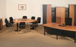 Chefbüro Inneneinrichtung von Interhansa