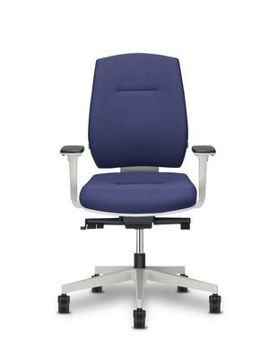 Moderner Bürodrehstuhl blau von Interhansa