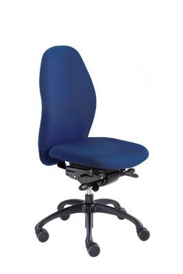 Ergonomischer Bürodrehstuhl blau von Interhansa