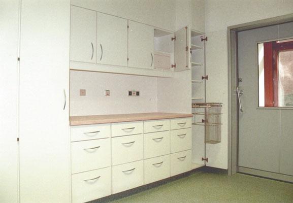 Schwesternzimmer in einer Klinik