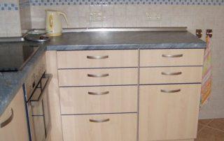 Küchenblock mit Arbeitsplatz von Interhansa