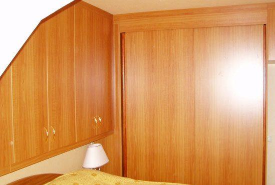 Schlafzimmereinbau von Interhansa