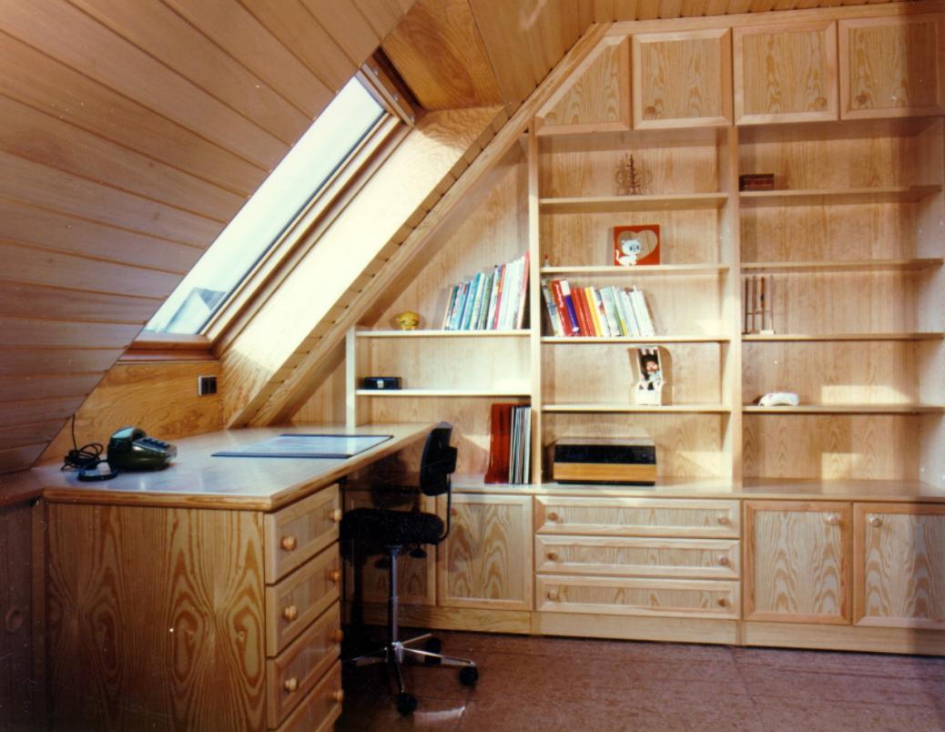 Jugendzimmer im Dachgeschoß