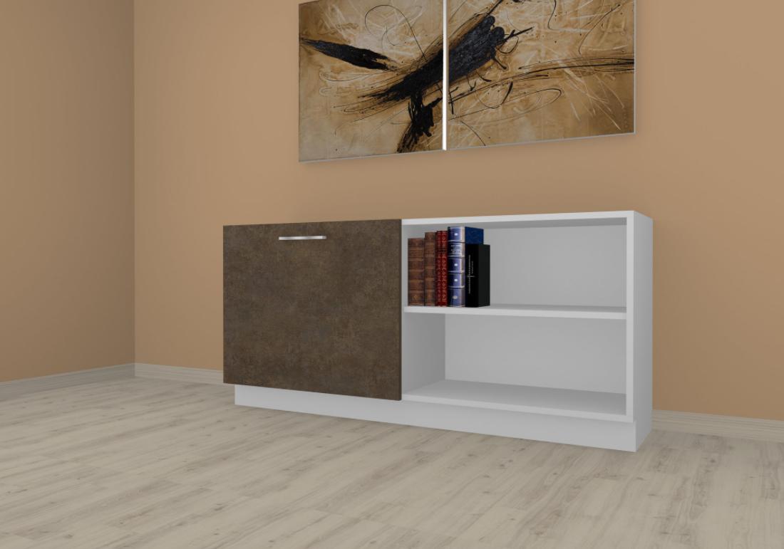 Sideboard mit Schiebelement nach Kundenwunsch